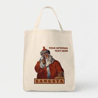 Las bolsas de asas del personalizado de Gangsta
