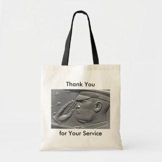 Las bolsas de asas militares del héroe del veteran