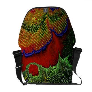 Las bolsas de mensajero del arte 1-10 del fractal bolsa de mensajeria