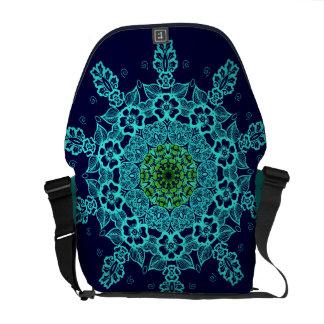 Las bolsas de mensajero del modelo de la mandala d bolsa messenger