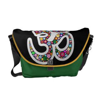 Las bolsas de mensajero del símbolo de la yoga de  bolsa de mensajería