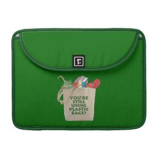 Las bolsas de plástico fundas para macbook pro