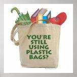 Las bolsas de plástico impresiones