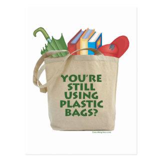 Las bolsas de plástico postal