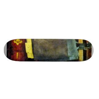 Las botas del bombero tablas de patinar