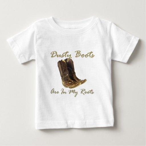 Las botas polvorientas están en mi Roots.jpg Remeras