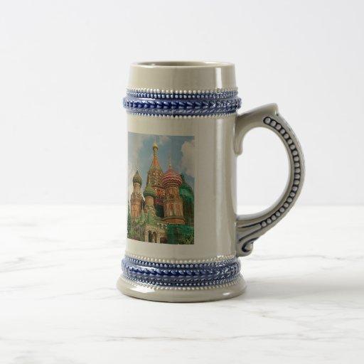 Las bóvedas de la cebolla de Rusia Taza De Café
