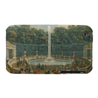 Las bóvedas en el jardín en Versalles, pub. por iPhone 3 Funda