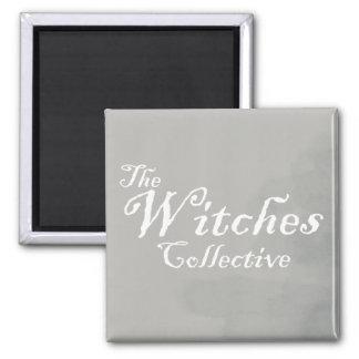 Las brujas colectivas imán cuadrado