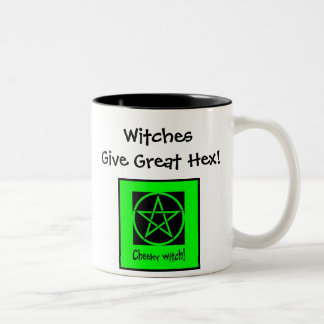 ¡Las brujas dan el gran maleficio! Taza fresca