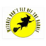 las brujas no vuelan de la manija postal