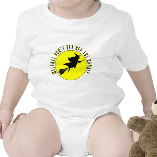 las brujas no vuelan de la manija traje de bebé