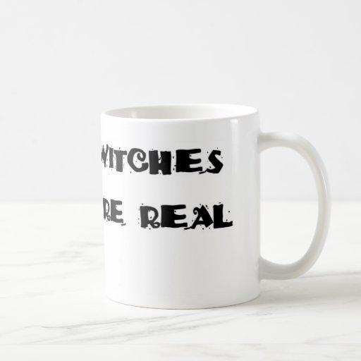 Las brujas son taza de café real