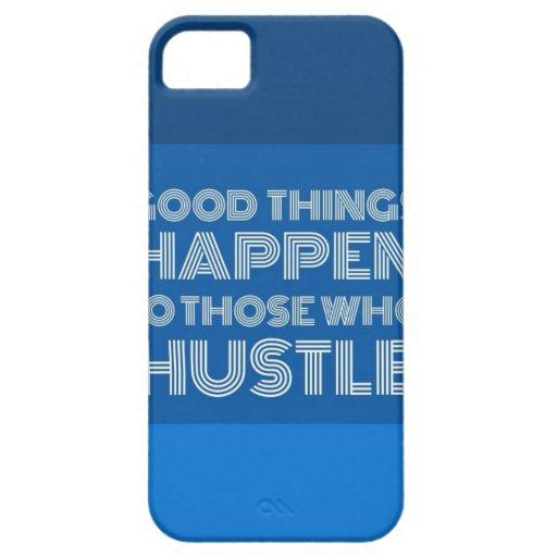 Las buenas cosas suceden a las que se den prisa -  iPhone 5 funda
