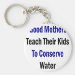 Las buenas madres enseñan a sus niños a conservar  llaveros personalizados