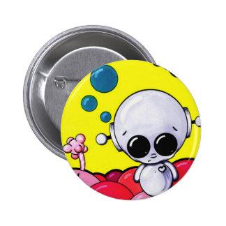 las burbujas matarán al botón pin