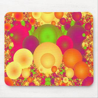 Las burbujas refrescan fractal fino abstracto alfombrillas de raton