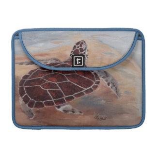 las cabezas suben la tortuga fundas para macbook pro