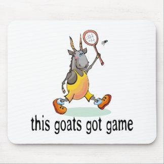 Las cabras consiguieron el juego alfombrillas de ratones
