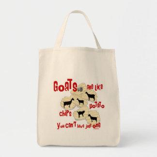 Las cabras son como las patatas fritas