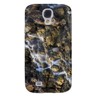 Las caídas de Brine de la roca volcánica caen Funda Samsung S4
