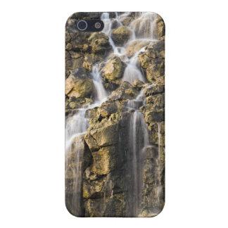 Las caídas de Brine de la roca volcánica caen iPhone 5 Carcasa