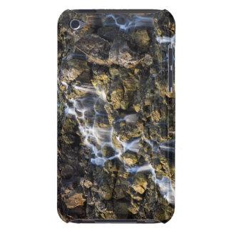 Las caídas de Brine de la roca volcánica caen iPod Touch Fundas