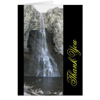 Las caídas de hadas en Yellowstone le agradecen ca Tarjeton