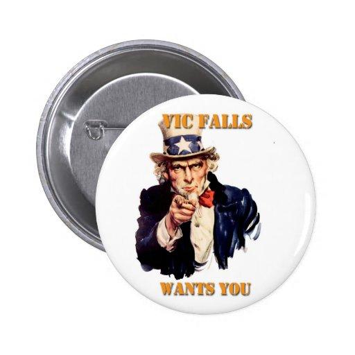 Las caídas de Vic le quieren Pin