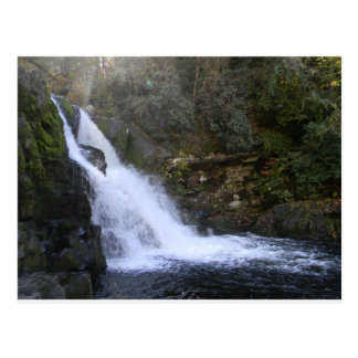 Las caídas Great Smoky Mountains de Abram Tarjetas Postales