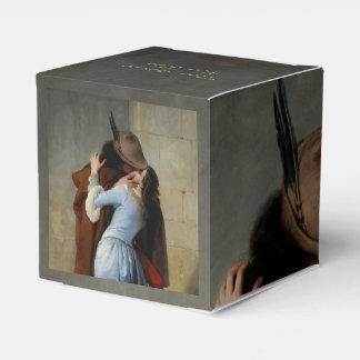 Las cajas de encargo del favor del texto del cajas para detalles de boda