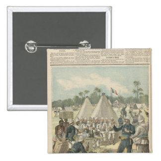 Las cajas del Año Nuevo en Dahomey Pins