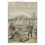 Las cajas del Año Nuevo en Dahomey Tarjeta De Felicitación