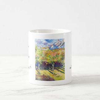 Las cales en Poissy Claude Monet se refrescan, Taza De Café