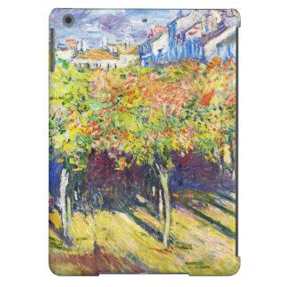 Las cales en Poissy Claude Monet se refrescan, vie Funda Para iPad Air