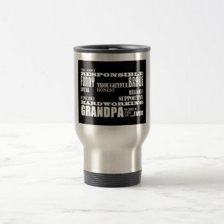 Las calidades mejores y más grandes de los abuelos taza de viaje de acero inoxidable
