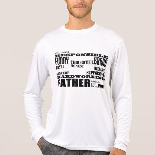 Las calidades mejores y más grandes de los padres camisetas