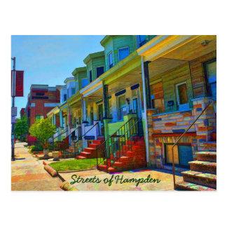 Las calles de Hampden Postales
