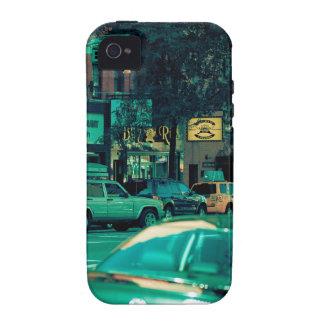 Las calles de la ciudad iPhone 4 funda