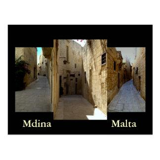Las calles de Mdina Postal