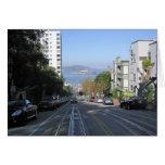 Las calles que se inclinan de San Francisco Tarjeta De Felicitación