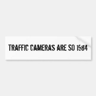 Las cámaras del tráfico son TAN 1984 Pegatina Para Auto