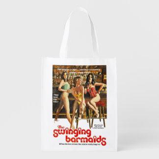 Las camareras de balanceo bolsas para la compra