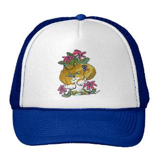 Las camas de flor hacen grandes escondites gorras de camionero