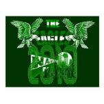 Las camisetas 2010 del gráfico de Naija del Grunge Tarjetas Postales