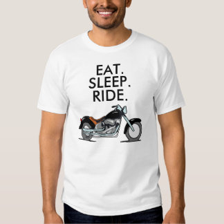 Las camisetas de la motocicleta del motorista, remeras