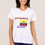 Las camisetas de las mujeres de Ecuador