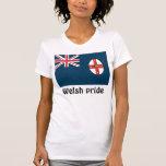 Las camisetas de las mujeres de País de Gales