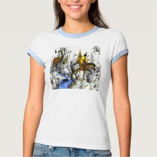 Las camisetas de las mujeres del guerrero y de los camisas