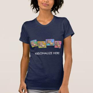 Las camisetas de las mujeres - galletas del arte
